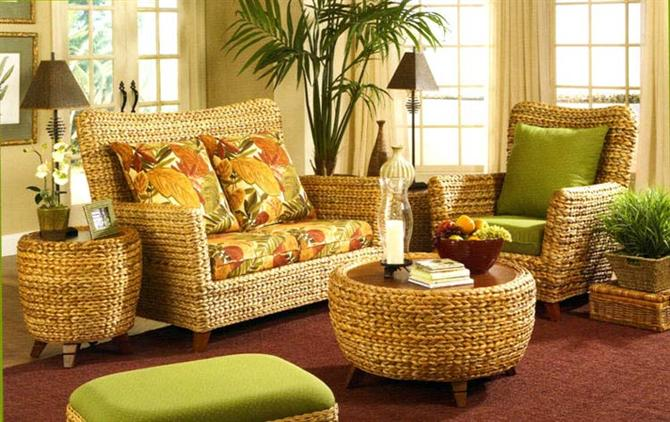 How to use and maintain rattan furniture beautifully